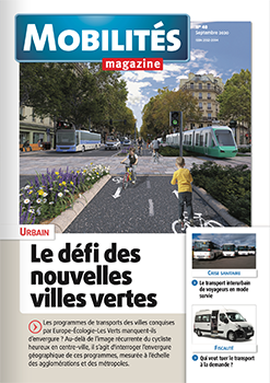 THE SEPTEMBER 2020 ISSUE OF MOBILITES MAGAZINE PRESENTS THE TROUILLET D-CITY NGV WITH THE TELMA RETARDER FITTED AS STANDARD