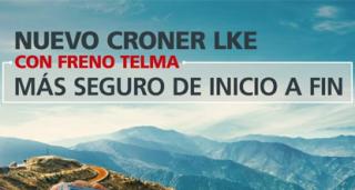 The Telma option available on the UD Croner LKE