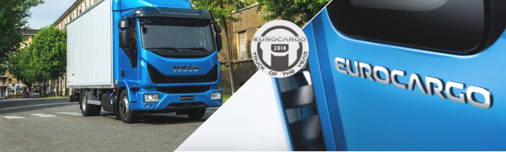 """The Iveco Eurocargo named """"Truck of the year 2016"""""""