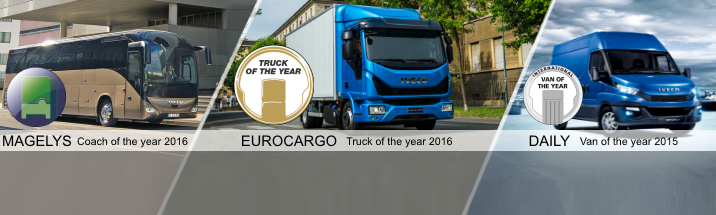 Awards for Iveco vehicles
