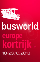 Busworld Courtrai 2013 - L'événement Européen dédié aux Autobus et Autocars