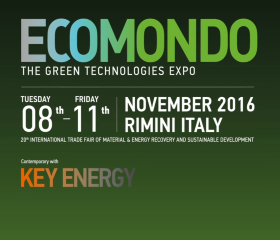 ECOMONDO 2017 : THE INTERNATIONAL TRADE FAIT OF MATERIAL AND ENERGY RECOVERY AND SUSTAINABLE DEVELOPMENT