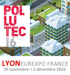 Pollutec 2016 : le salon international des équipements, des technologies et des services de l'environnement