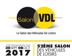SALON VDL 2017 : LE SALON DES VÉHICULES DE LOISIRS